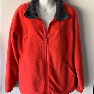 Pink Columbia Fleece Jacket.